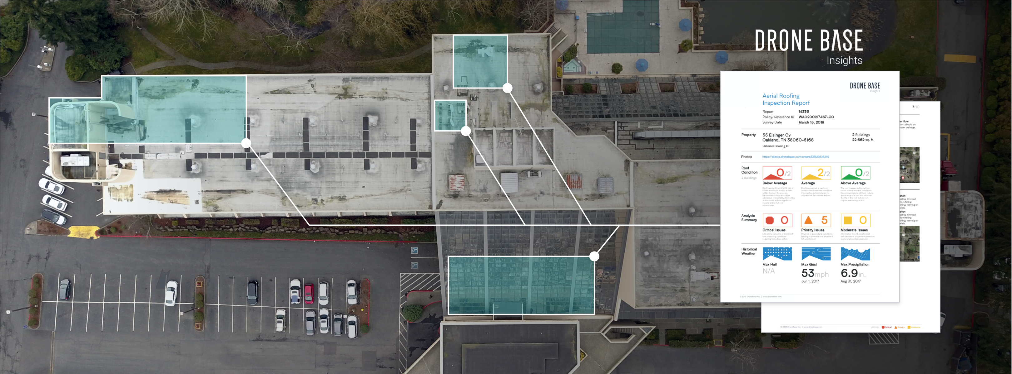 The Benefits to Using DroneBase Insights Roof Reports