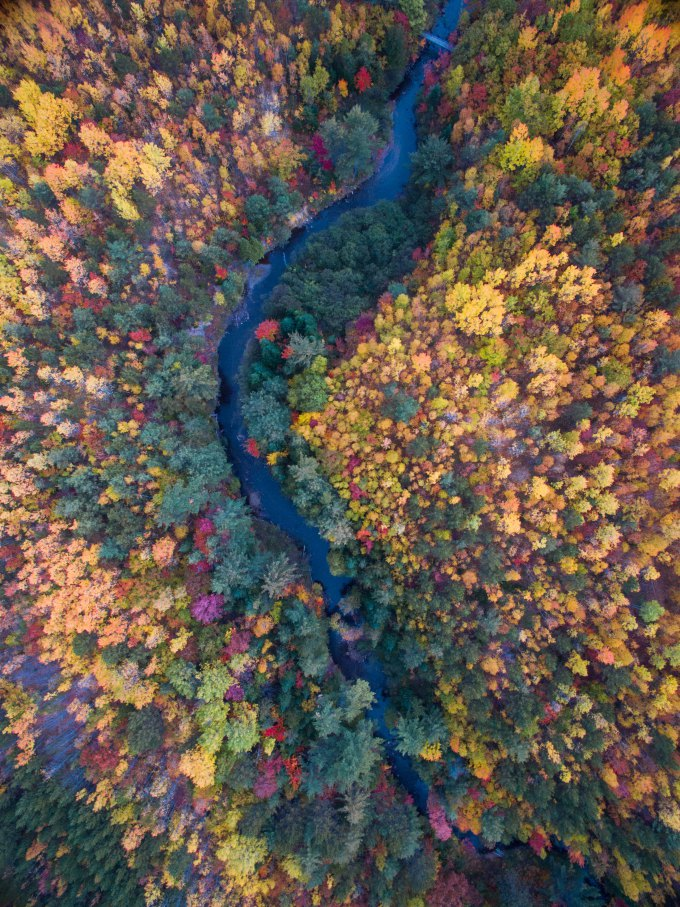 Drone Photography in the Fall