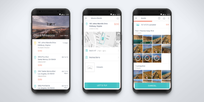 DroneBase Pilot App for Android