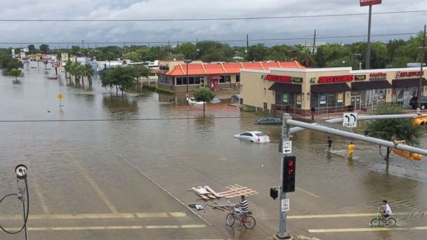 How Drone Aerial Imagery Plays an Integral Role in Hurricane Harvey Relief Efforts