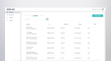 Introducing the New DroneBase Customer Dashboard