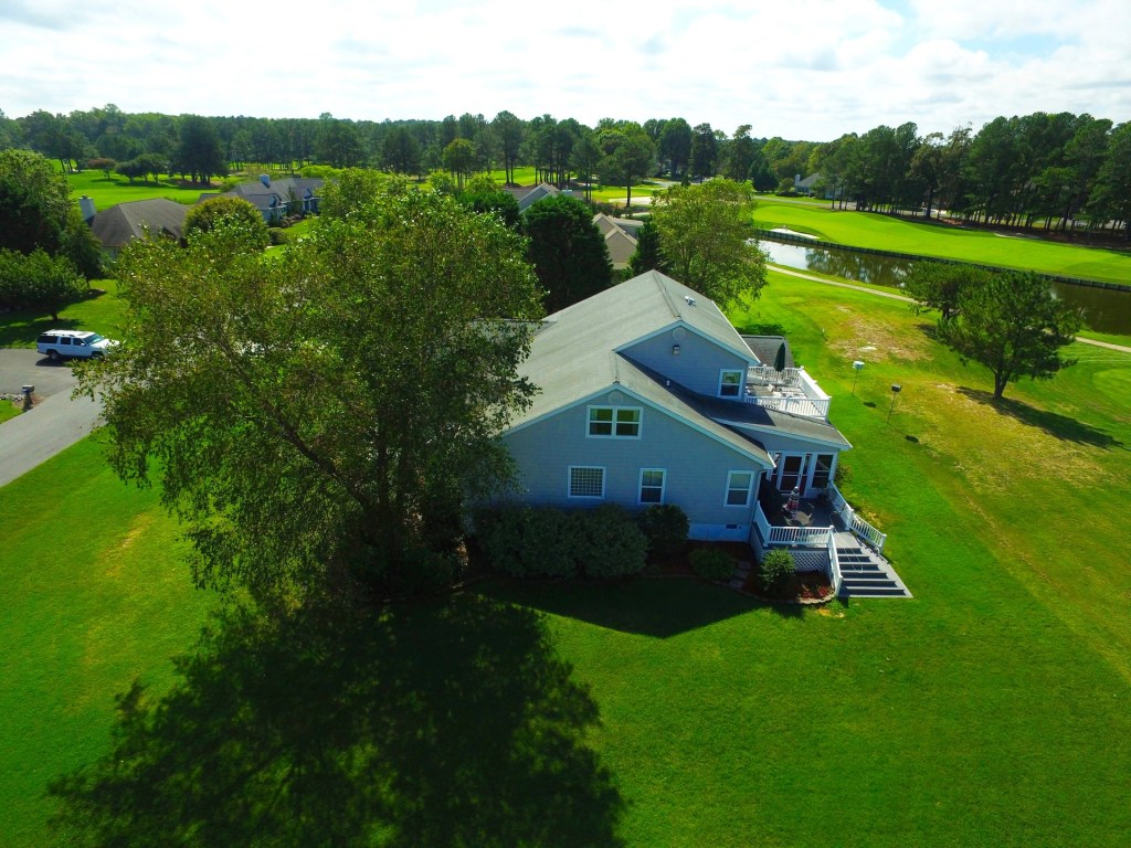 Drone image of home