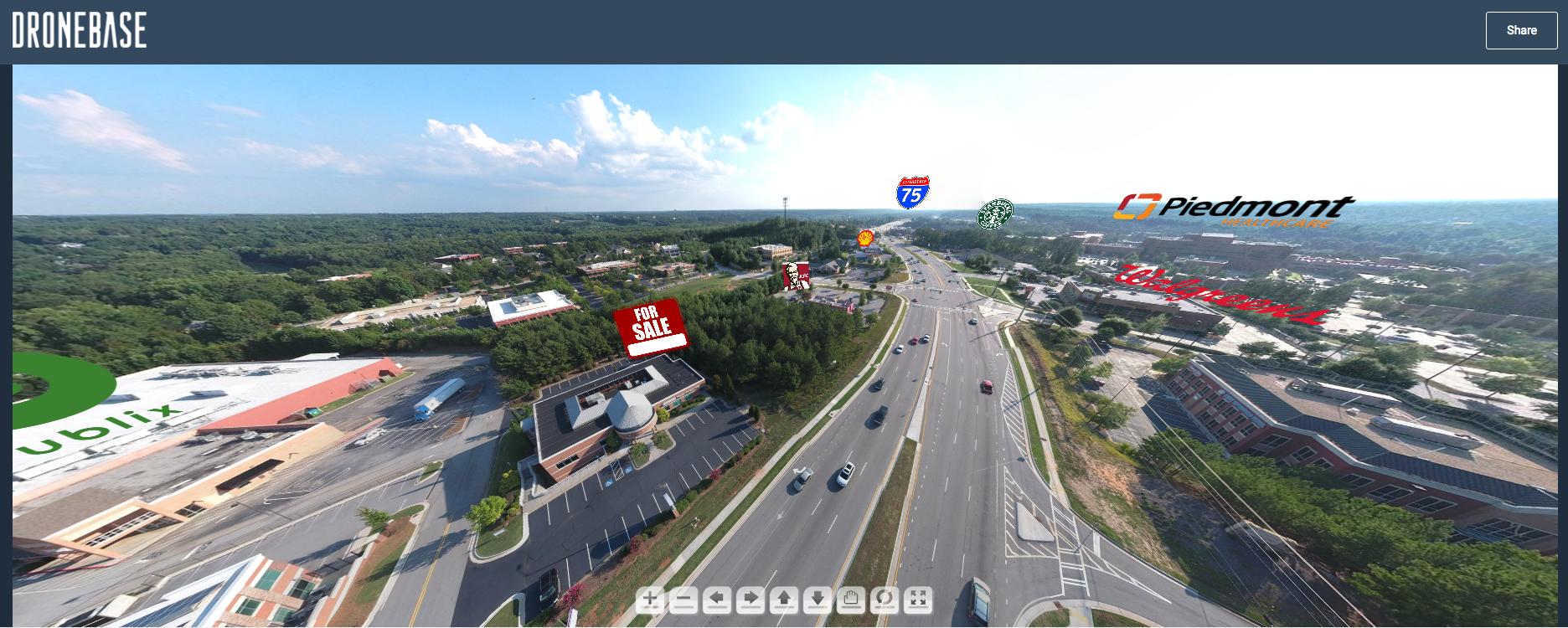 DroneBase 360 degree Panorama