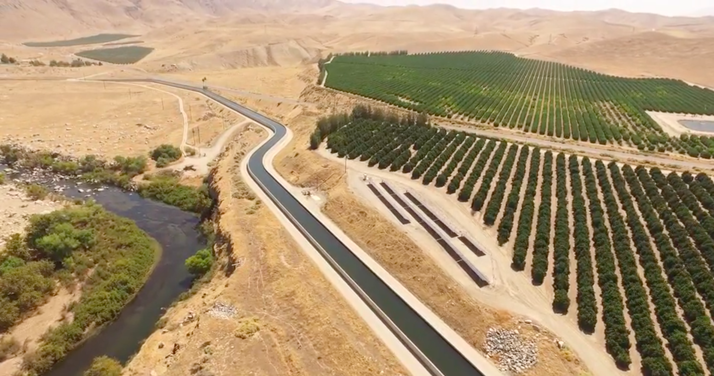 Kern County riverbed mapped by drone