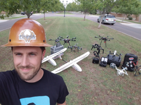 Meet Brian D., a Full-Time Drone Pilot