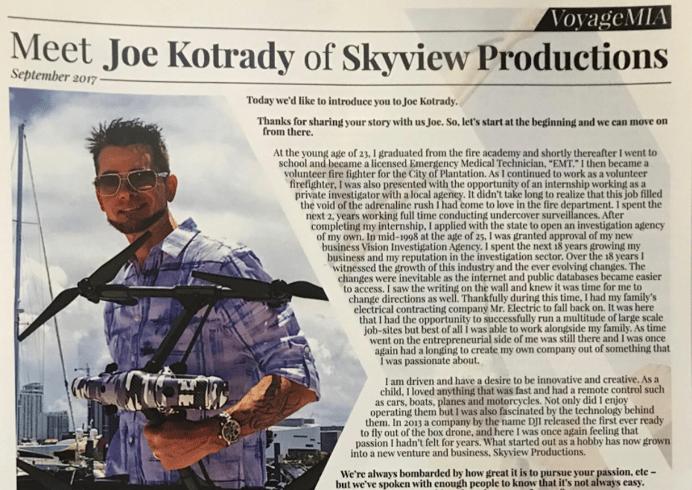 Meet DroneBase Pro Pilot, Joe Kotrady