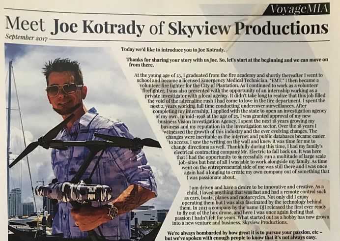 Meet DroneBase Pilot, Joe Kotrady