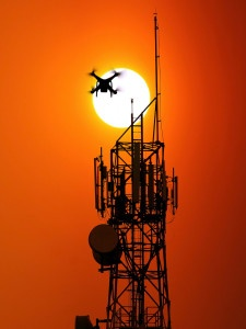Aerial inspections for telecommunications
