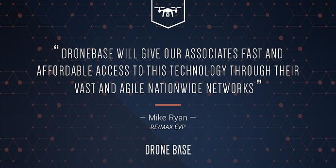 DroneBase Creates Strategic Alliance with RE/MAX For Aerial Imagery Services